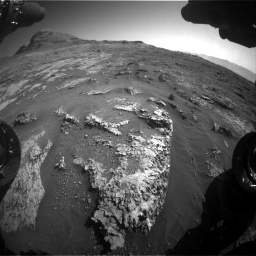 Nasa's Mars rover Curiosity acquired this image using its Front Hazard Avoidance Camera (Front Hazcam) on Sol 3149, at drive 3034, site number 88