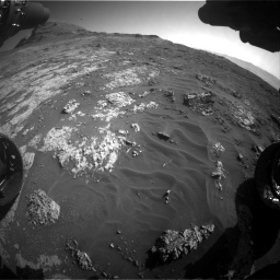 Nasa's Mars rover Curiosity acquired this image using its Front Hazard Avoidance Camera (Front Hazcam) on Sol 3149, at drive 3052, site number 88