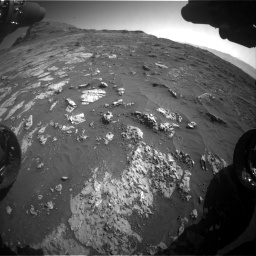 Nasa's Mars rover Curiosity acquired this image using its Front Hazard Avoidance Camera (Front Hazcam) on Sol 3149, at drive 3064, site number 88