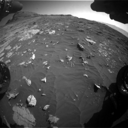 Nasa's Mars rover Curiosity acquired this image using its Front Hazard Avoidance Camera (Front Hazcam) on Sol 3149, at drive 3070, site number 88