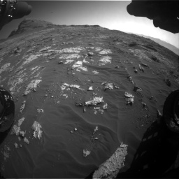 Nasa's Mars rover Curiosity acquired this image using its Front Hazard Avoidance Camera (Front Hazcam) on Sol 3149, at drive 3088, site number 88