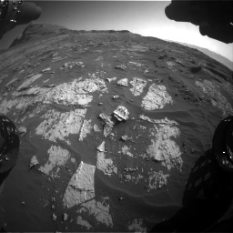 Nasa's Mars rover Curiosity acquired this image using its Front Hazard Avoidance Camera (Front Hazcam) on Sol 3149, at drive 3094, site number 88