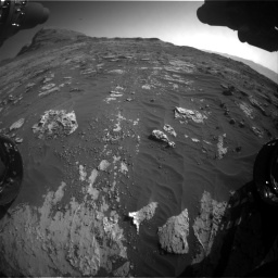 Nasa's Mars rover Curiosity acquired this image using its Front Hazard Avoidance Camera (Front Hazcam) on Sol 3149, at drive 3106, site number 88