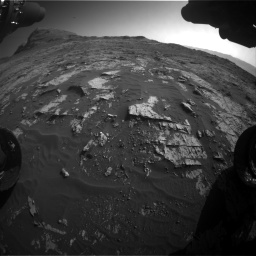 Nasa's Mars rover Curiosity acquired this image using its Front Hazard Avoidance Camera (Front Hazcam) on Sol 3149, at drive 3124, site number 88