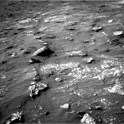 Nasa's Mars rover Curiosity acquired this image using its Left Navigation Camera on Sol 3149, at drive 3010, site number 88