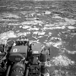 Nasa's Mars rover Curiosity acquired this image using its Left Navigation Camera on Sol 3149, at drive 3016, site number 88