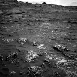 Nasa's Mars rover Curiosity acquired this image using its Left Navigation Camera on Sol 3149, at drive 3046, site number 88