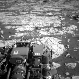 Nasa's Mars rover Curiosity acquired this image using its Left Navigation Camera on Sol 3149, at drive 3076, site number 88