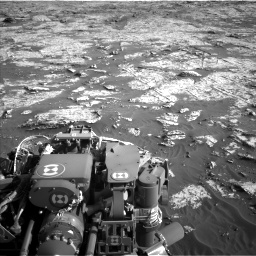 Nasa's Mars rover Curiosity acquired this image using its Left Navigation Camera on Sol 3149, at drive 3118, site number 88