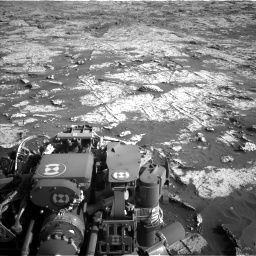 Nasa's Mars rover Curiosity acquired this image using its Left Navigation Camera on Sol 3149, at drive 3124, site number 88