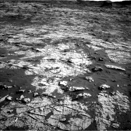 Nasa's Mars rover Curiosity acquired this image using its Left Navigation Camera on Sol 3149, at drive 3130, site number 88