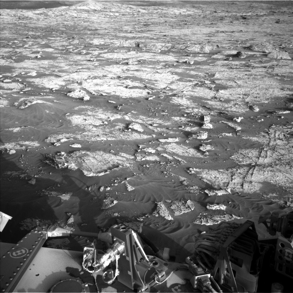 Nasa's Mars rover Curiosity acquired this image using its Left Navigation Camera on Sol 3149, at drive 0, site number 89