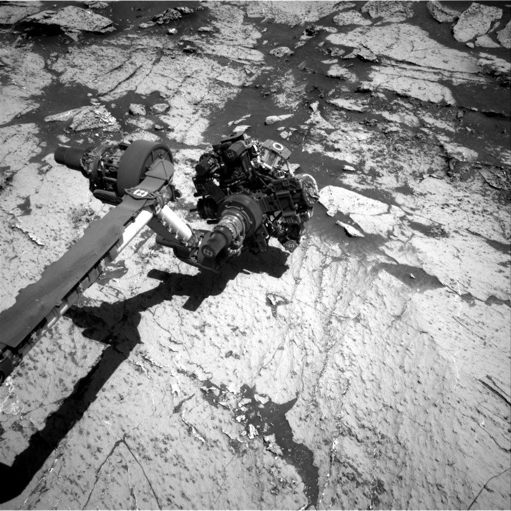 Nasa's Mars rover Curiosity acquired this image using its Right Navigation Camera on Sol 3149, at drive 2794, site number 88
