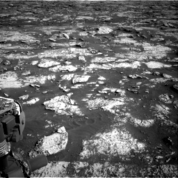 Nasa's Mars rover Curiosity acquired this image using its Right Navigation Camera on Sol 3149, at drive 3016, site number 88