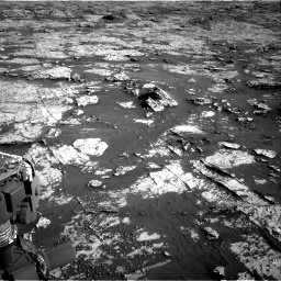 Nasa's Mars rover Curiosity acquired this image using its Right Navigation Camera on Sol 3149, at drive 3088, site number 88