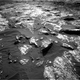 Nasa's Mars rover Curiosity acquired this image using its Right Navigation Camera on Sol 3149, at drive 3100, site number 88
