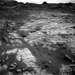 Nasa's Mars rover Curiosity acquired this image using its Right Navigation Camera on Sol 3149, at drive 3124, site number 88
