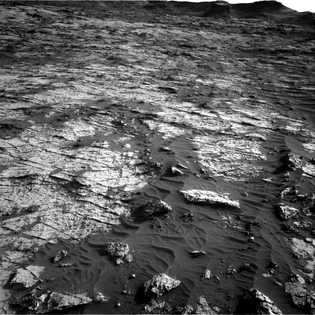 Nasa's Mars rover Curiosity acquired this image using its Right Navigation Camera on Sol 3149, at drive 0, site number 89