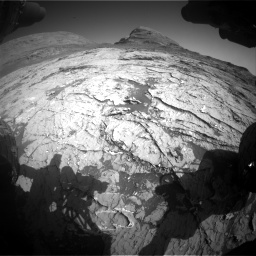 Nasa's Mars rover Curiosity acquired this image using its Front Hazard Avoidance Camera (Front Hazcam) on Sol 3151, at drive 264, site number 89