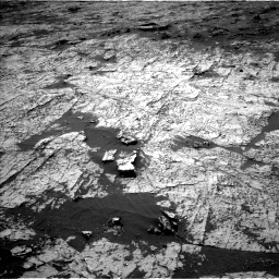 Nasa's Mars rover Curiosity acquired this image using its Left Navigation Camera on Sol 3151, at drive 18, site number 89