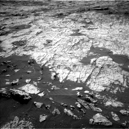Nasa's Mars rover Curiosity acquired this image using its Left Navigation Camera on Sol 3151, at drive 30, site number 89