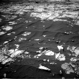 Nasa's Mars rover Curiosity acquired this image using its Left Navigation Camera on Sol 3151, at drive 72, site number 89