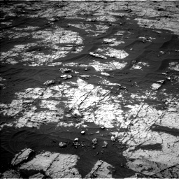 Nasa's Mars rover Curiosity acquired this image using its Left Navigation Camera on Sol 3151, at drive 90, site number 89