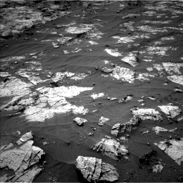Nasa's Mars rover Curiosity acquired this image using its Left Navigation Camera on Sol 3151, at drive 132, site number 89