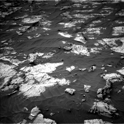 Nasa's Mars rover Curiosity acquired this image using its Left Navigation Camera on Sol 3151, at drive 150, site number 89