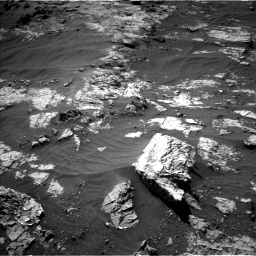 Nasa's Mars rover Curiosity acquired this image using its Left Navigation Camera on Sol 3151, at drive 180, site number 89