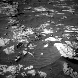 Nasa's Mars rover Curiosity acquired this image using its Left Navigation Camera on Sol 3151, at drive 210, site number 89