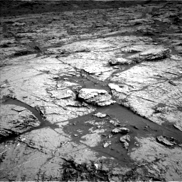 Nasa's Mars rover Curiosity acquired this image using its Left Navigation Camera on Sol 3151, at drive 276, site number 89