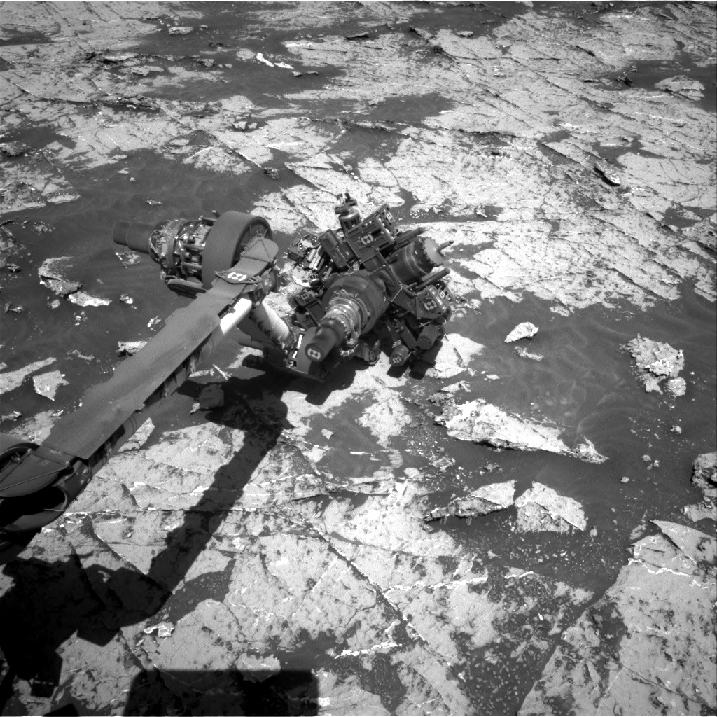 Nasa's Mars rover Curiosity acquired this image using its Right Navigation Camera on Sol 3151, at drive 0, site number 89