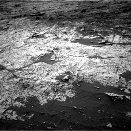Nasa's Mars rover Curiosity acquired this image using its Right Navigation Camera on Sol 3151, at drive 6, site number 89