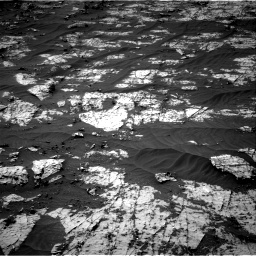 Nasa's Mars rover Curiosity acquired this image using its Right Navigation Camera on Sol 3151, at drive 120, site number 89