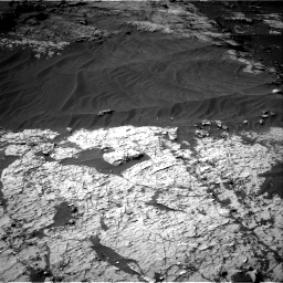 Nasa's Mars rover Curiosity acquired this image using its Right Navigation Camera on Sol 3151, at drive 234, site number 89