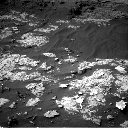 Nasa's Mars rover Curiosity acquired this image using its Right Navigation Camera on Sol 3151, at drive 252, site number 89