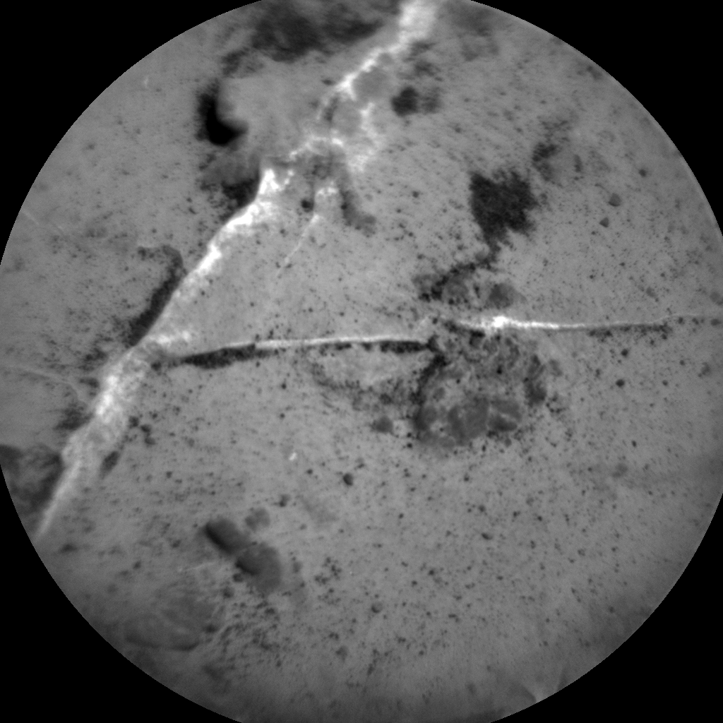 Nasa's Mars rover Curiosity acquired this image using its Chemistry & Camera (ChemCam) on Sol 3151, at drive 0, site number 89