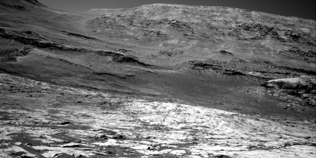 Nasa's Mars rover Curiosity acquired this image using its Right Navigation Camera on Sol 3152, at drive 276, site number 89