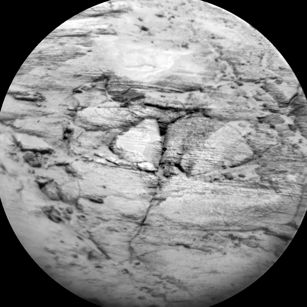 Nasa's Mars rover Curiosity acquired this image using its Chemistry & Camera (ChemCam) on Sol 3153, at drive 276, site number 89