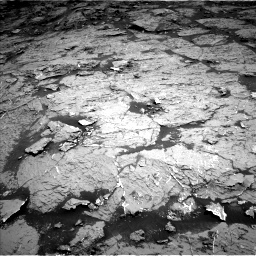 Nasa's Mars rover Curiosity acquired this image using its Left Navigation Camera on Sol 3154, at drive 276, site number 89
