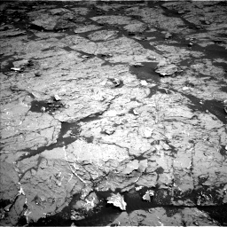 Nasa's Mars rover Curiosity acquired this image using its Left Navigation Camera on Sol 3154, at drive 282, site number 89