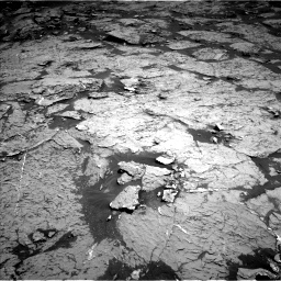 Nasa's Mars rover Curiosity acquired this image using its Left Navigation Camera on Sol 3154, at drive 294, site number 89