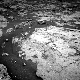Nasa's Mars rover Curiosity acquired this image using its Left Navigation Camera on Sol 3154, at drive 364, site number 89