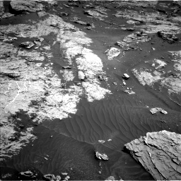 Nasa's Mars rover Curiosity acquired this image using its Left Navigation Camera on Sol 3154, at drive 382, site number 89