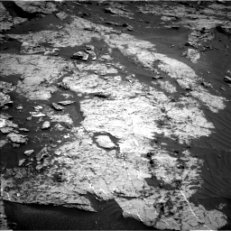 Nasa's Mars rover Curiosity acquired this image using its Left Navigation Camera on Sol 3154, at drive 412, site number 89