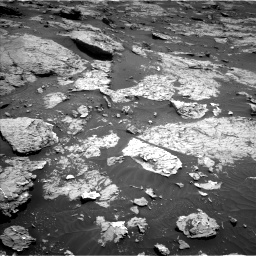 Nasa's Mars rover Curiosity acquired this image using its Left Navigation Camera on Sol 3154, at drive 454, site number 89