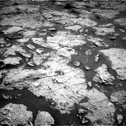 Nasa's Mars rover Curiosity acquired this image using its Left Navigation Camera on Sol 3154, at drive 484, site number 89