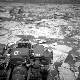 Nasa's Mars rover Curiosity acquired this image using its Left Navigation Camera on Sol 3154, at drive 496, site number 89