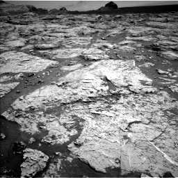 Nasa's Mars rover Curiosity acquired this image using its Left Navigation Camera on Sol 3154, at drive 520, site number 89